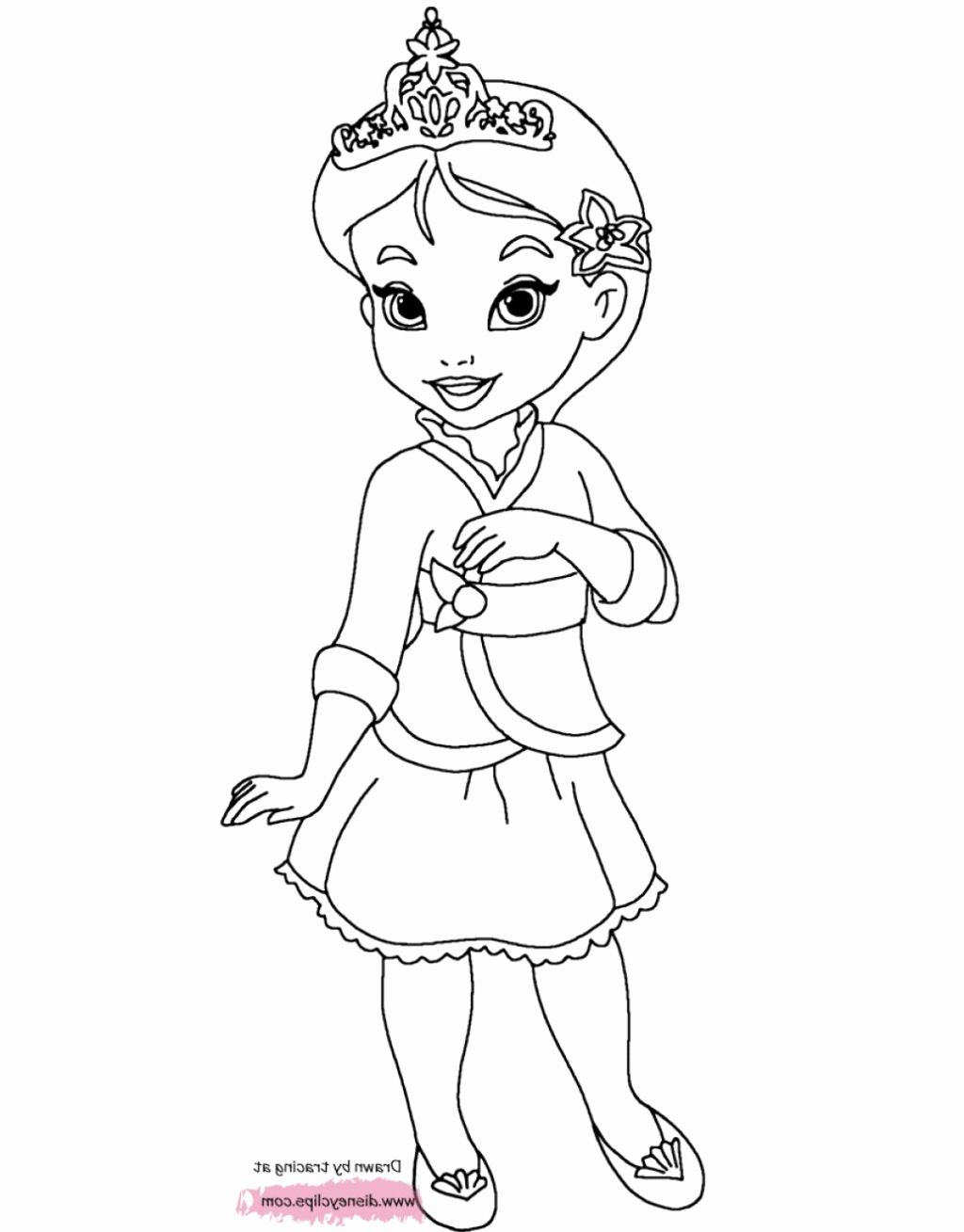Kids Coloring Pages Baby Princess Disney Princess Coloring Pages Disney Coloring Pages Princess Coloring Pages