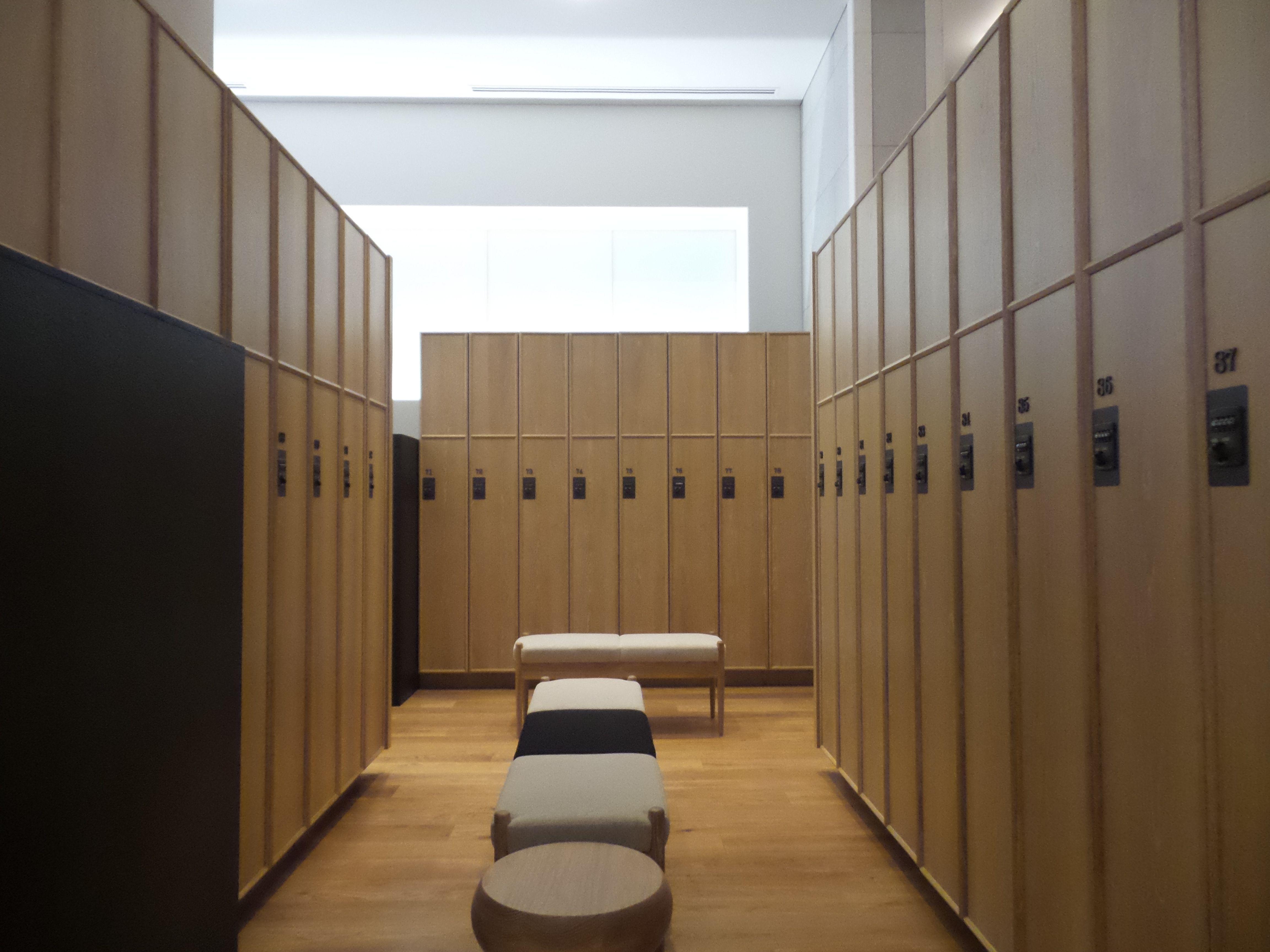 Andaz东京 季裕棠系列 pinterest lockers spa and gym