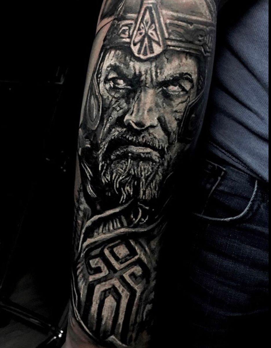 Pin by J. Kinney on Ink in 2020 Viking tattoos, Tattoo