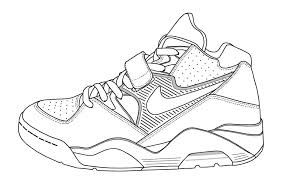 Nike Shoe Template Google Search With Images Sneaker Art
