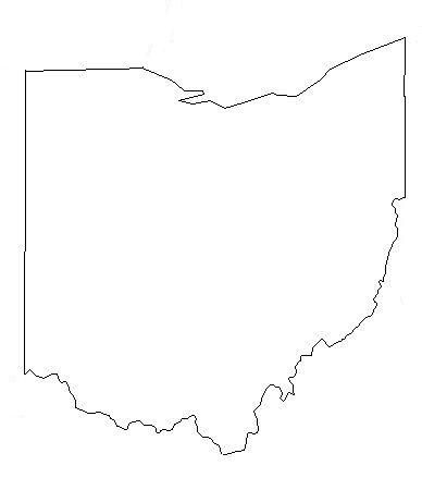 Outline Of Ohio Map Quilt Tattoos Ohio Outline