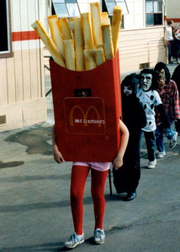 featured costume mcdonalds fries california raisin - California Raisin Halloween Costume