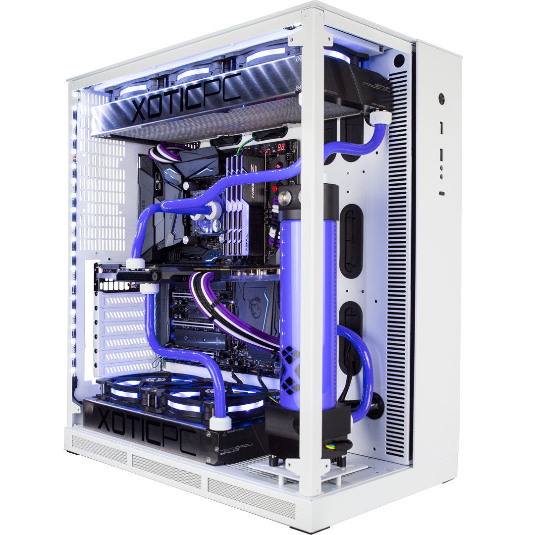 Custom Water Cooled Gx11 Widow Gaming Pcs Computer Build Pc Cases