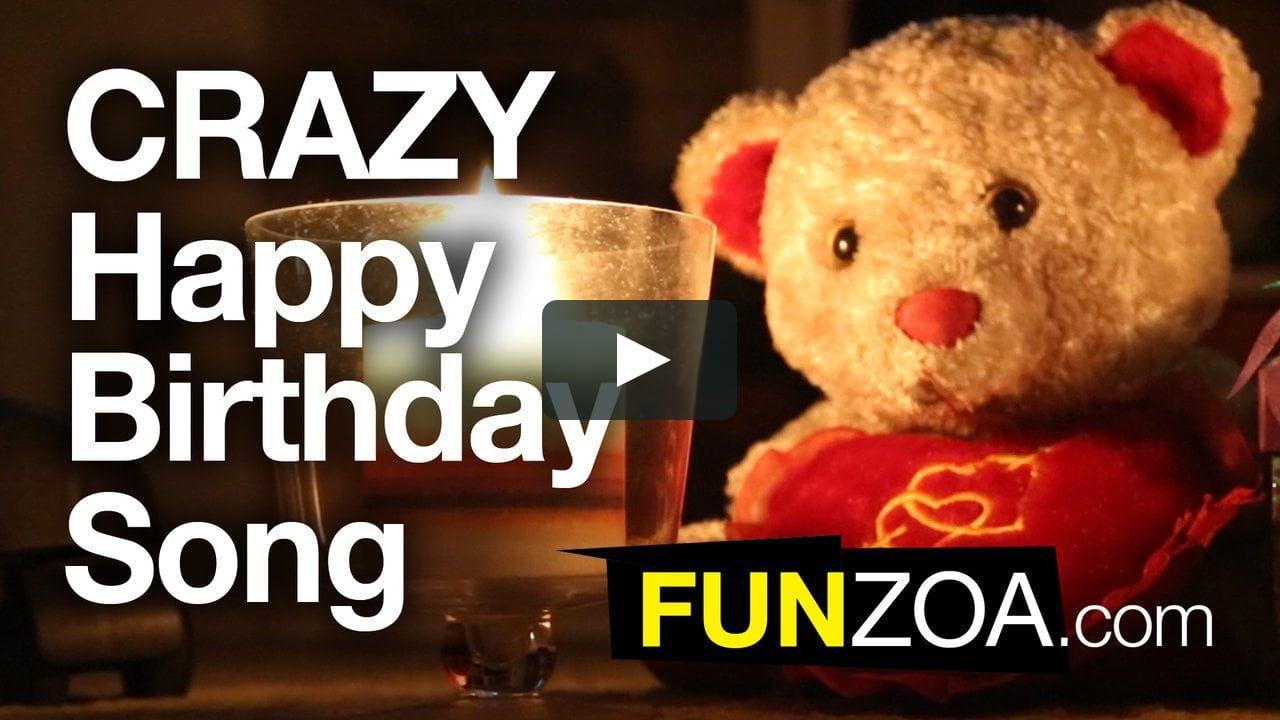 Funniest Happy Birthday Song Funzoa Teddy Sings Very Funny Song Happy Birthday Quotes Funny Happy Birthday Song Funny Happy Birthday Song