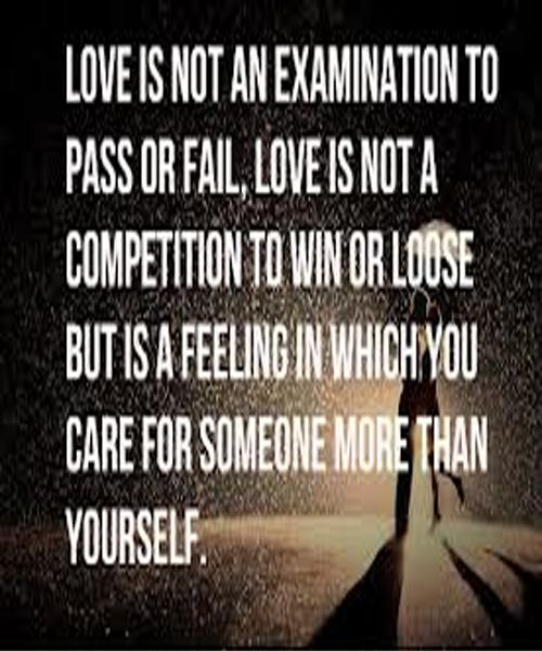 Love Is Not A Competition Zquotes Our Love Quotes Competition Quotes Love Quotes