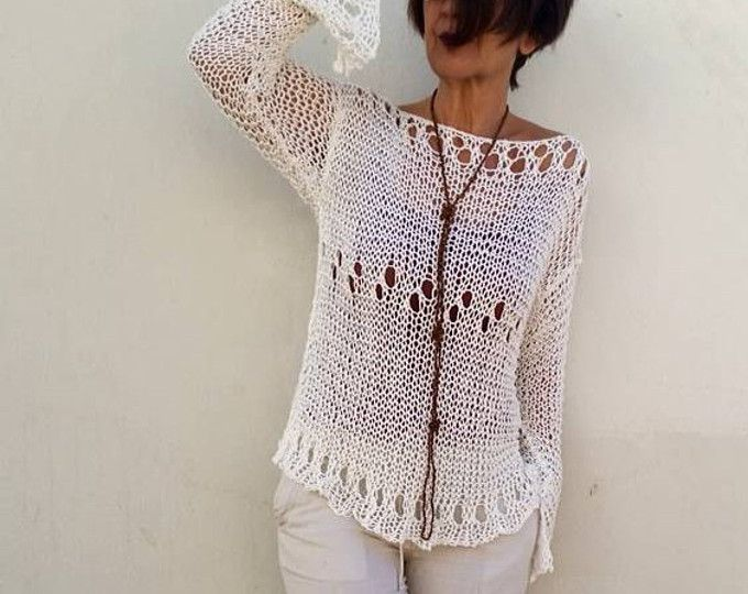 Sleeveless sweater, v neck sweater, linen knit top, women sweater ...