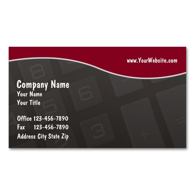 Accounting business cards business cards and business accounting business cards accmission Choice Image