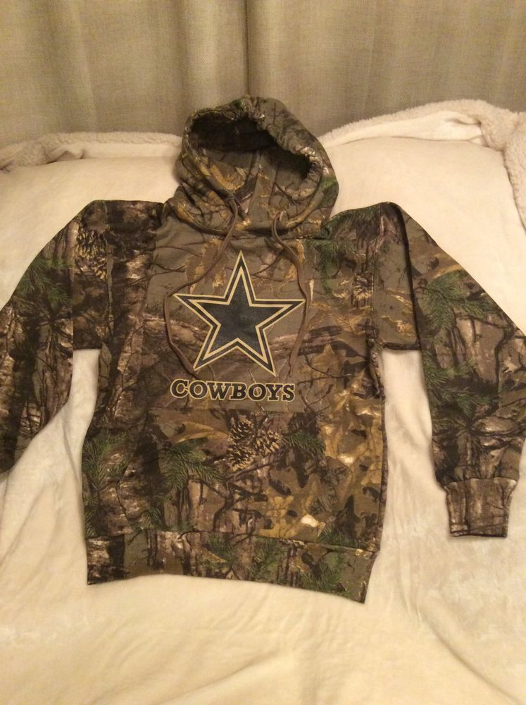 size 40 5c078 f996e Dallas Cowboys Camo Hoodies New Size Large from $42.95 ...