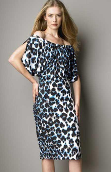Mais #moda animal print http://modelosdevestidos.biz/vestidos-animal-print/
