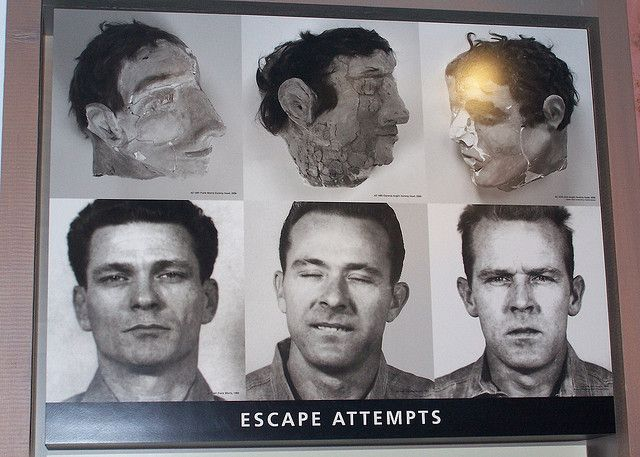 Escape From Alcatraz Prisoners Their Masks San Francisco
