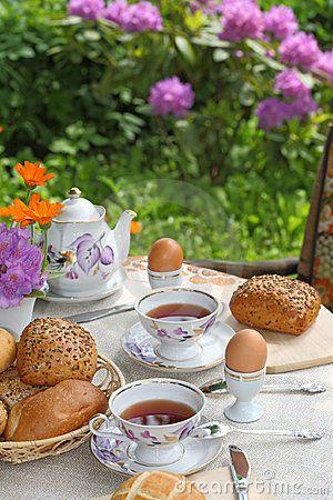 Petit Dejeuner Au Jardin Idee Petit Dejeuner Fait Maison