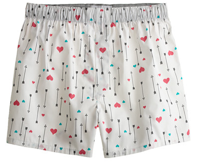 valentine gift for your boyfriend: hearts and arrows mens boxer, Ideas