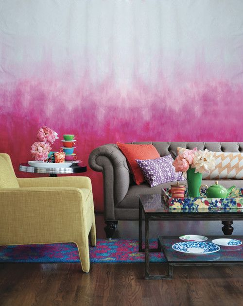 Five Ways to Ombré | Pinterest | Throw pillows, Living rooms and Pillows