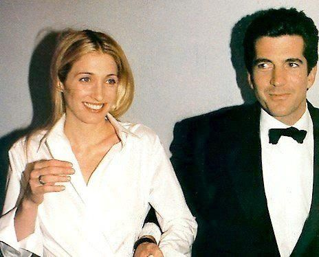 John F. Kennedy Jr. And his wife, Carolyn Bessette.. R.I.P. 1999