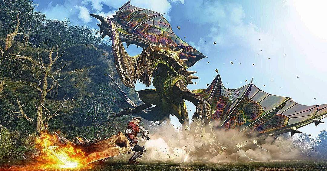 Pin By Ryan Goss On Monstros Monster Hunter Monster Hunter Movie Monster Hunter World