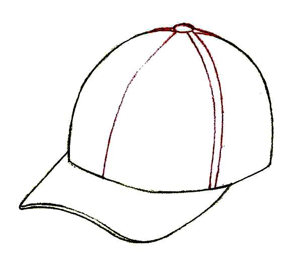 Pin By Coloringsun On Baseball Cap Coloring Pages Coloring Pages Baseball Cap Color