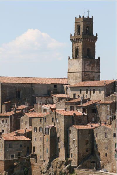 Pitigliano Maremma Toscana Italyprovince of Grosseto