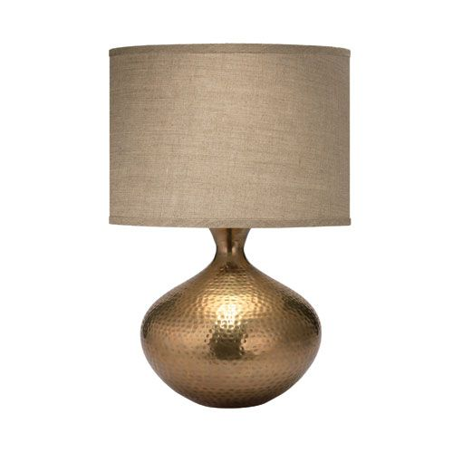Morocco antique brass one light table lamp jamie young company shaded table lamps lamps