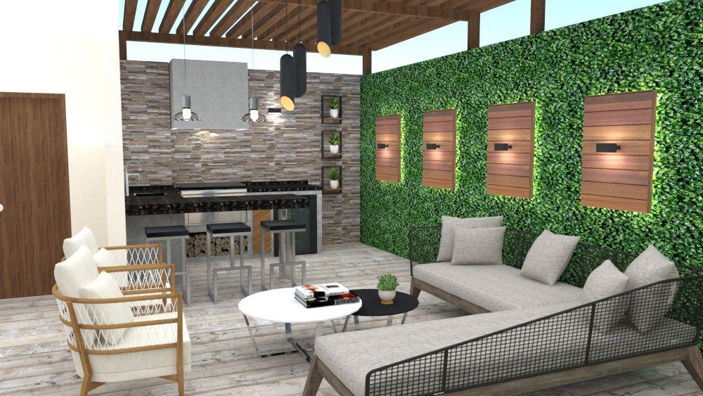 Diseno De Terraza Con Sala De Juegos En 2020 Diseno De Terraza Diseno De Azotea Decoracion De Patio Exterior