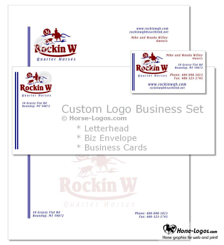 Custom horse logo letterhead envelope and business card design custom horse logo letterhead envelope and business card design tags identity brand branding stationery magicingreecefo Choice Image