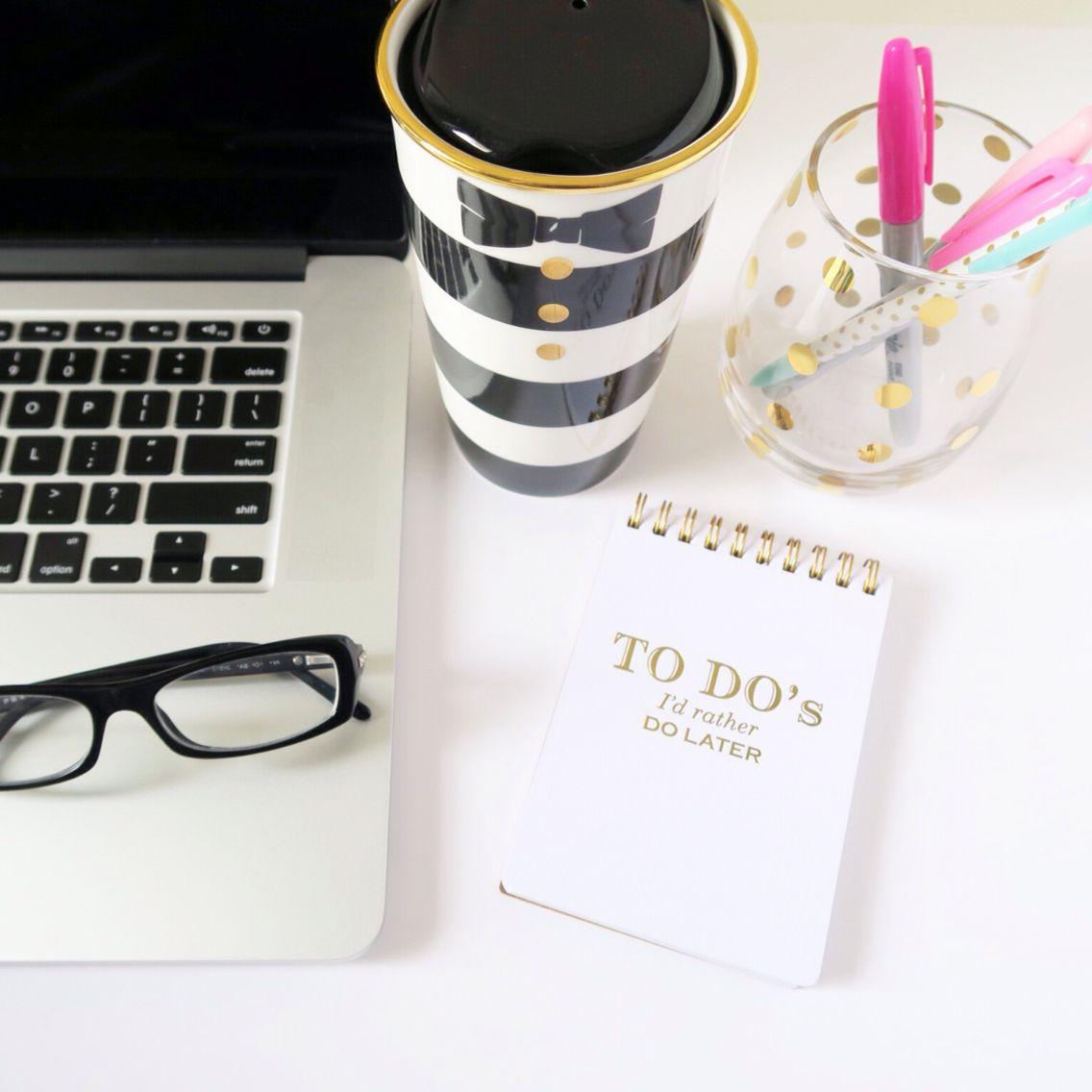 Chic desk accessories | Chicfetti Instagram | Pinterest ...