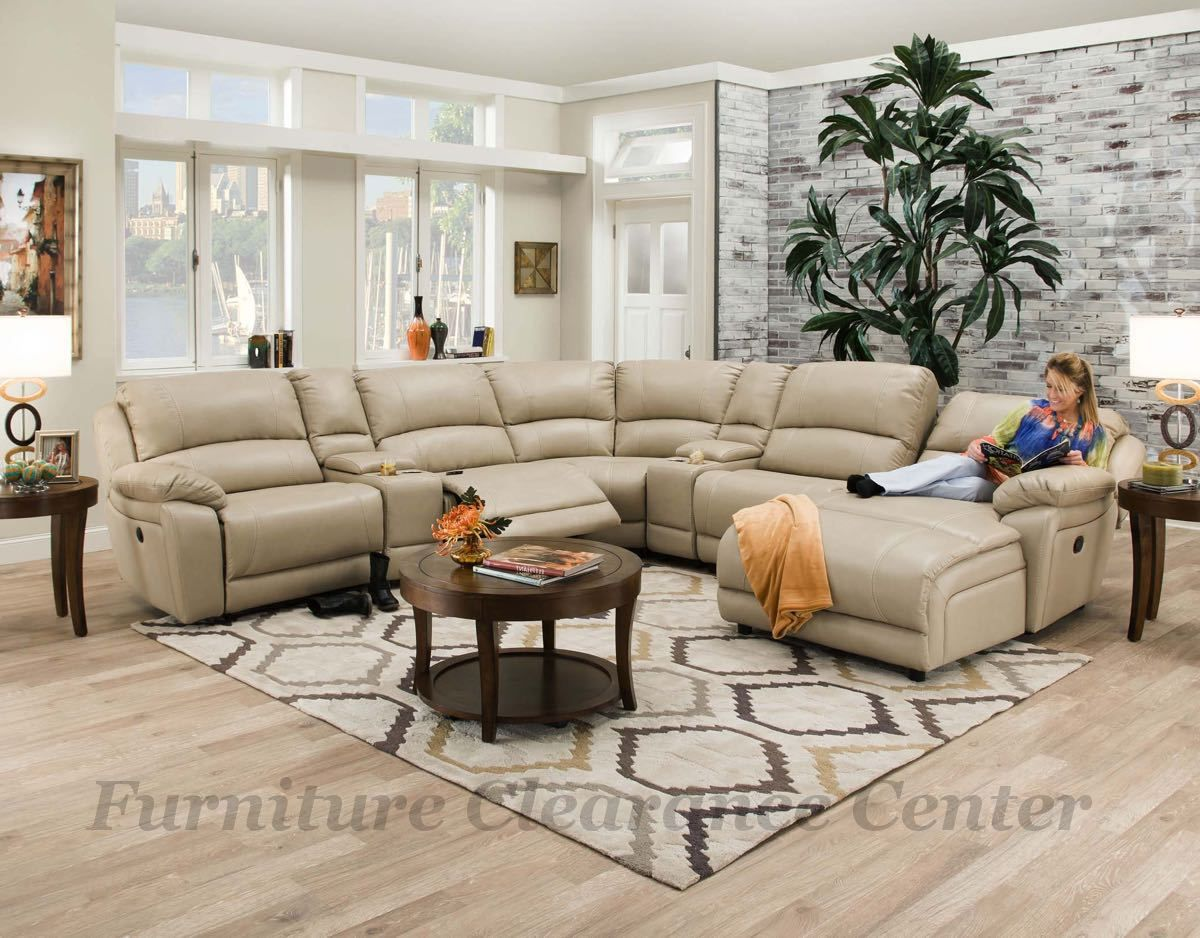 Fantastic Faulkner Champagne 7 Pc Sectional By Corinthian Soft Bonded Gmtry Best Dining Table And Chair Ideas Images Gmtryco