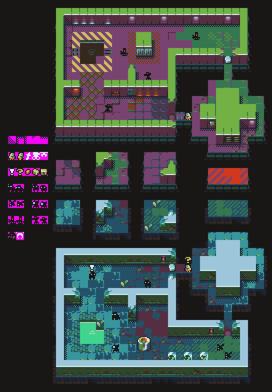Level Design   Pixel World in 2019   Pixel art games, Pixel ... on