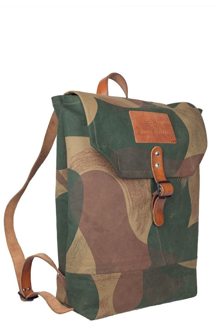 Atelier de l\'Armée Handcrafted Rucksack | ARMY CAMO SURPLUS ...