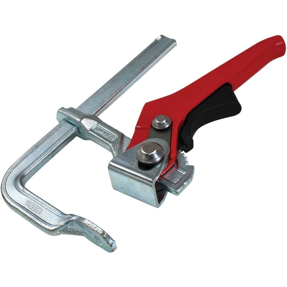 Bessey Rapid Action Lever Clamp 31 In Capacity 4 3 4 In Throat Depth Metal Work Bench Welding Table Lever Action