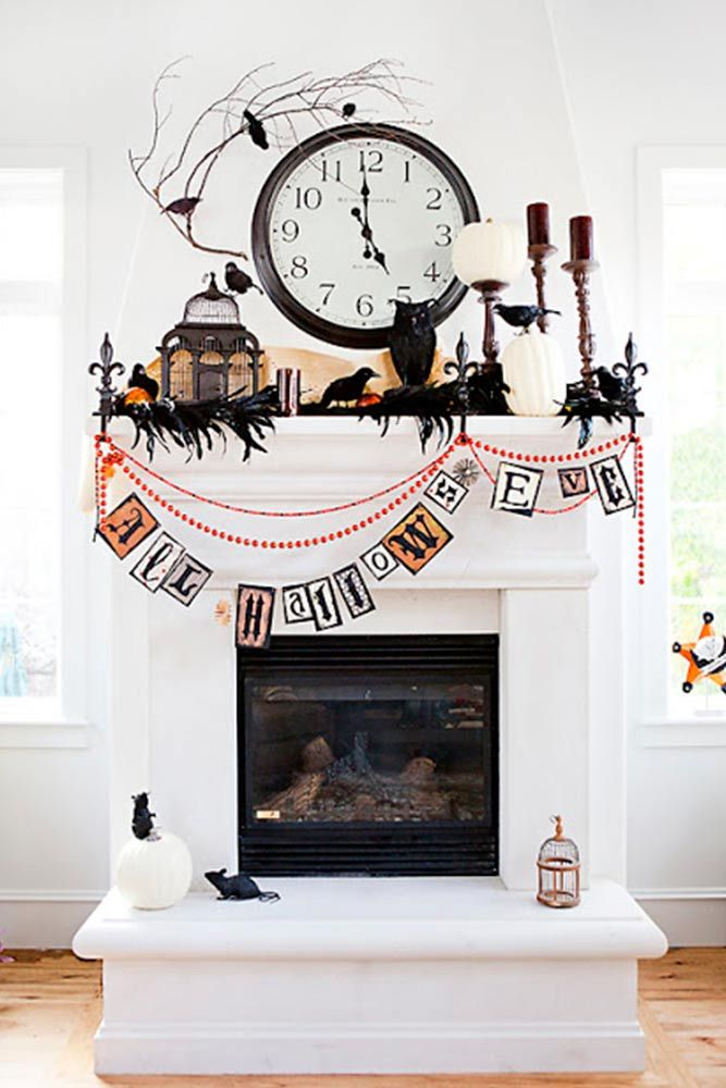 39 Scary Indoor and Outdoor Halloween Decorations That You Can Make - halloween decorations indoor ideas