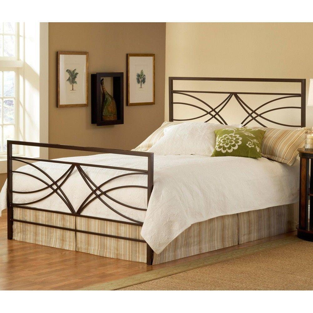 Dutton Iron Bed In Brown Crystal By Hillsdale Furniture Camas Metalicas Camas Dormitorios