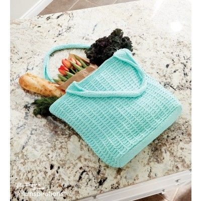 Knit Market Tote Knitting Patterns Pinterest Knitted Bags