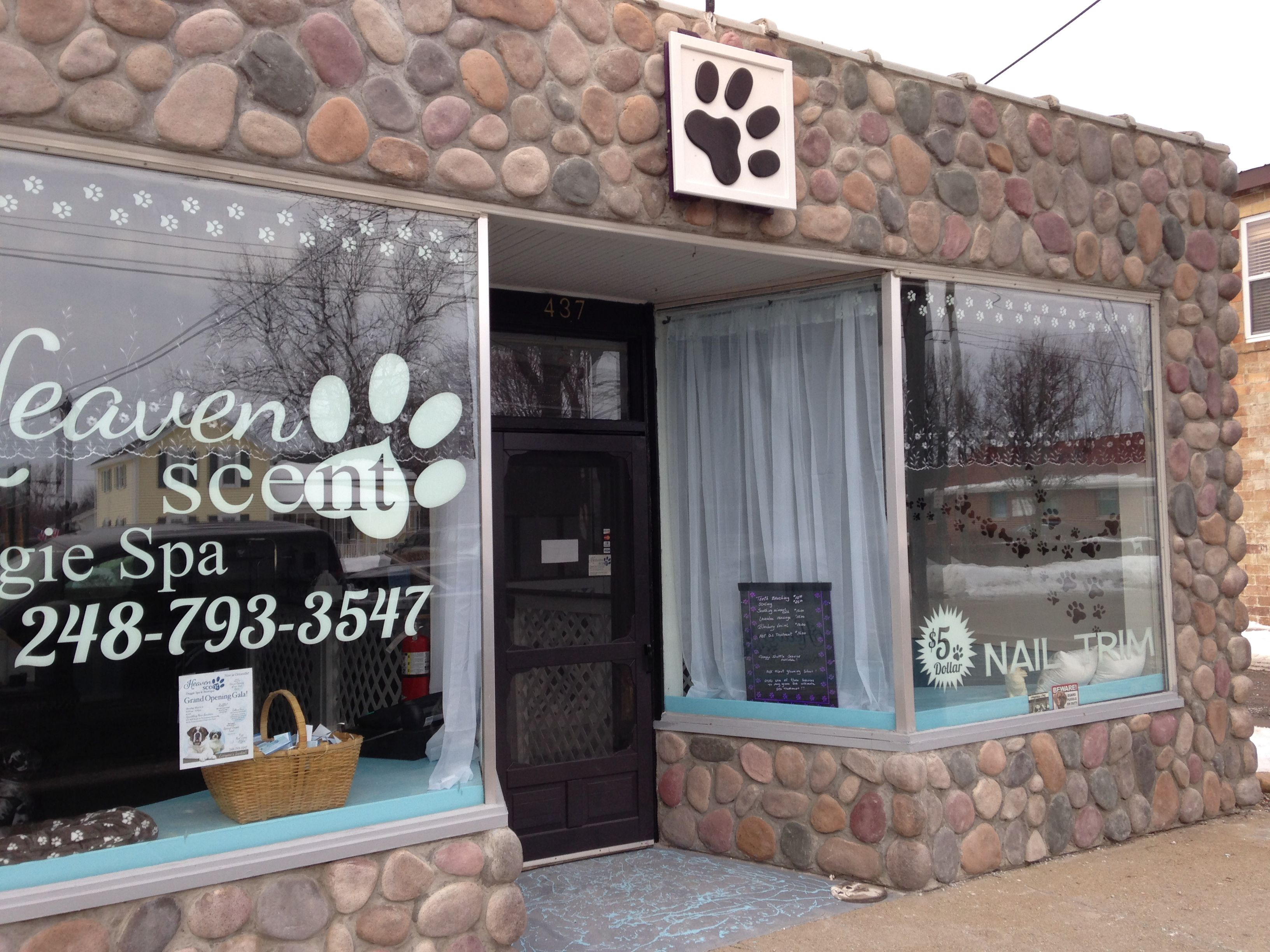 Second location in Ortonville Trim nails, Grooming shop