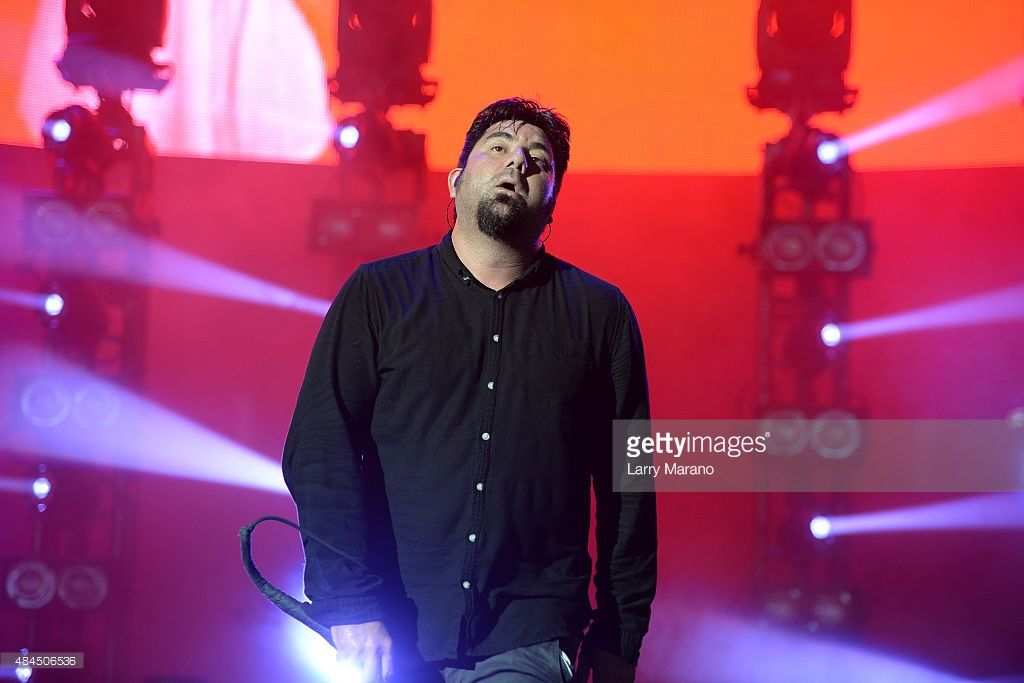 Chino Moreno Of Deftones Performs At The Perfect Vodka Amphitheater On August 2017 In West Palm Beach Florida