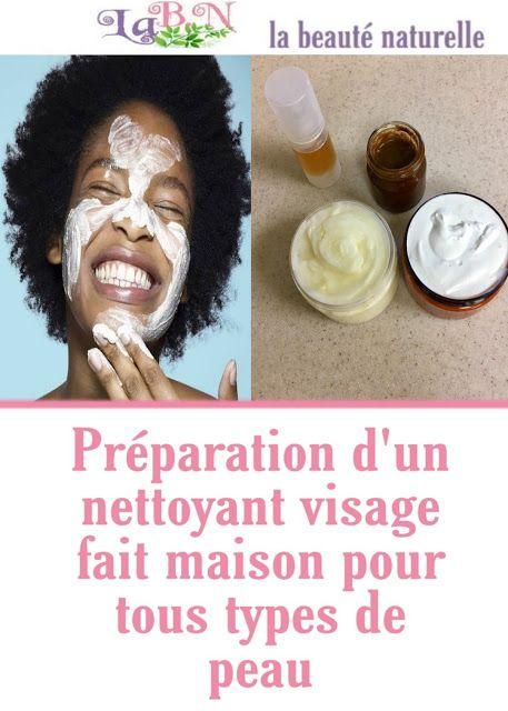 Préparation d'un nettoyant visage fait maison pour tous types de peau (avec images) | Nettoyant ...