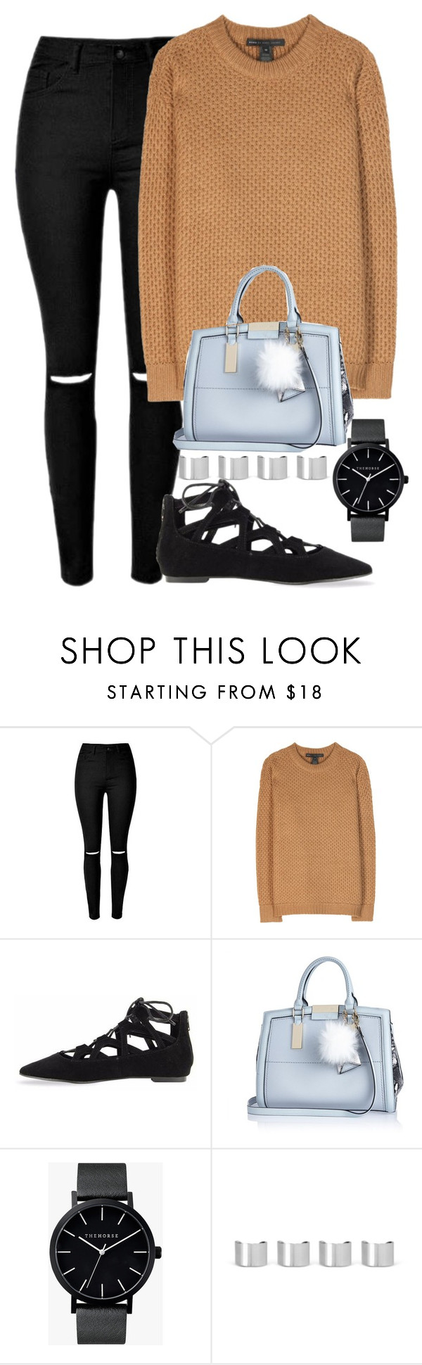 """""""Untitled #407"""" by kaylynewolfenden ❤ liked on Polyvore featuring Marc by Marc Jacobs, River Island, The Horse, Maison Margiela, women's clothing, women, female, woman, misses and juniors"""
