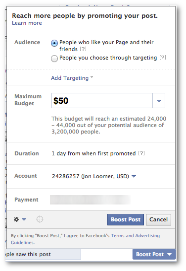 Facebook Boost Post Facebook Promoted Posts A Proven Strategy To Target Fans And Non Fans Boosted Post Target Fans Promotion