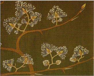 Hermann Obrist Blütenbaum  (Detail), um 1895