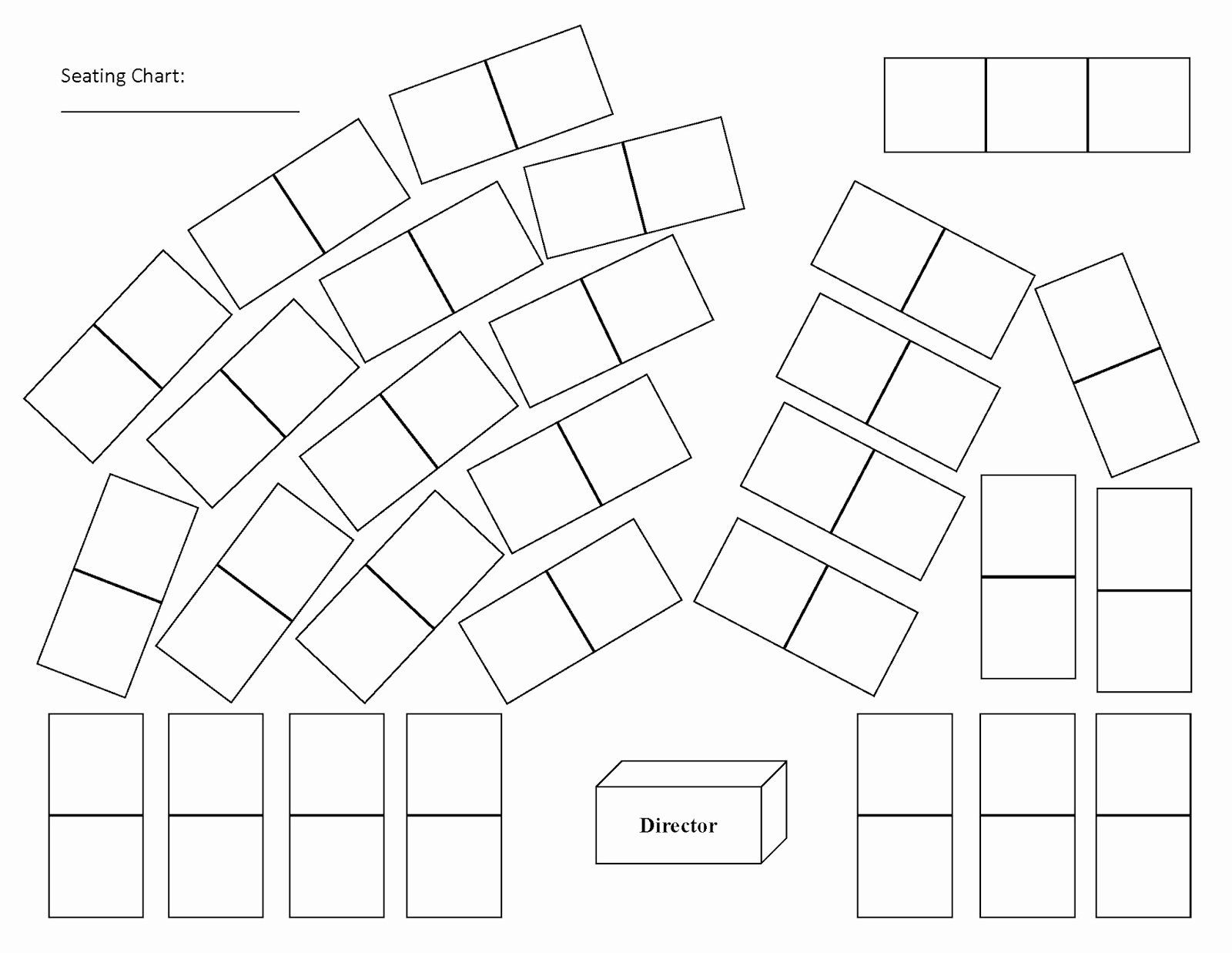Choir Seating Chart Template Fresh Free Classroom Seating