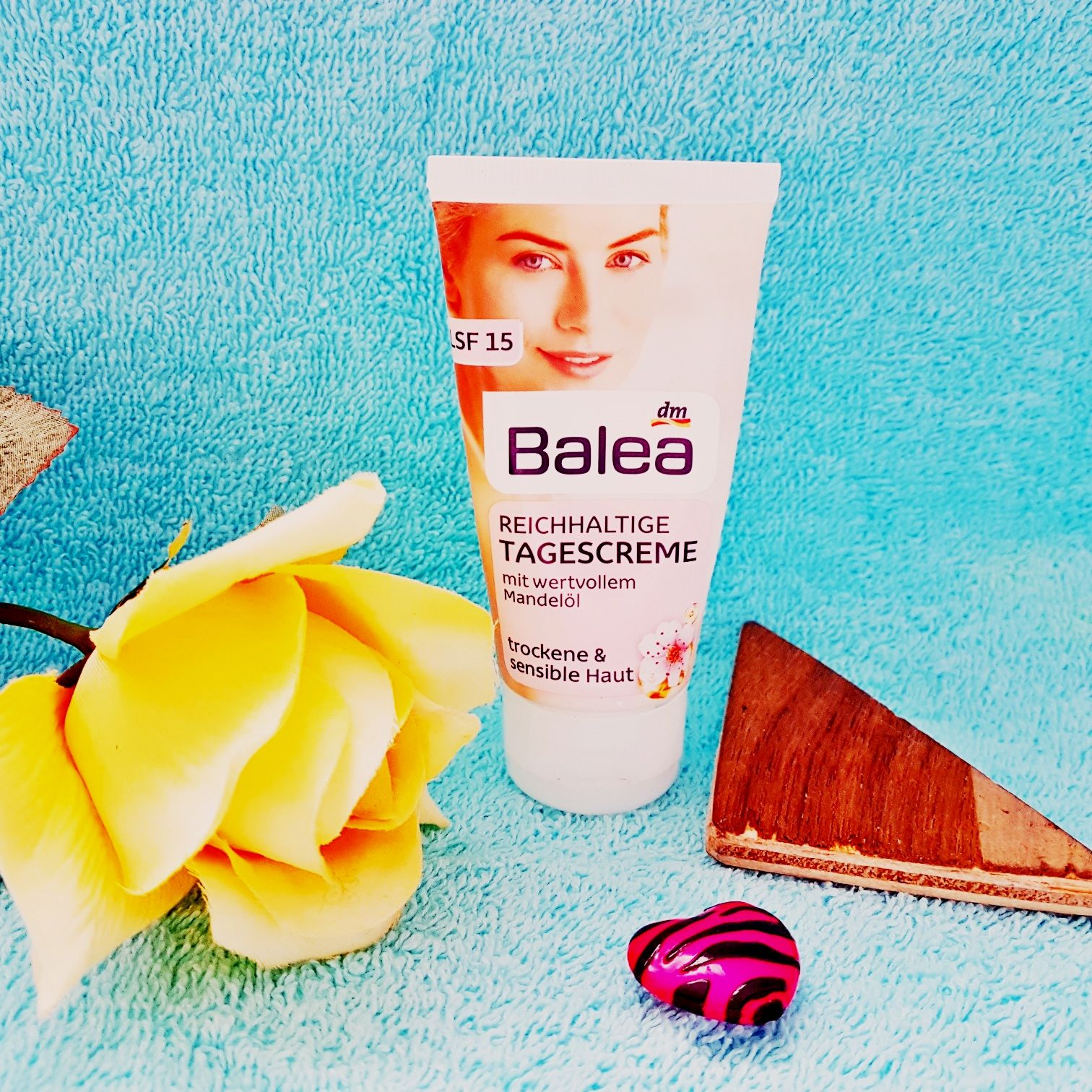 Balea Reichhaltige Tagescreme ist für trockene und sensible Haut