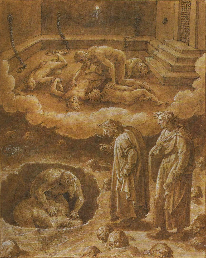 a religious analysis of the dantes inferno Study guide for divine comedy-i: inferno divine comedy-i: inferno study guide contains a biography of dante alighieri, literature essays, quiz questions, major themes, characters, and a full summary and analysis.