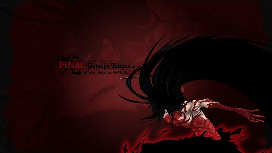 Anime Ichigo Final Getsuga Tenshou Temporary Shinigami Bleach