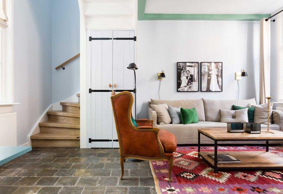 Interior interieurinspiratie kelim vtwonen vintage modern