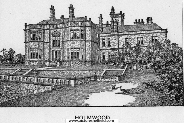 Holmwood House Ecclesall Road Built For Henry Vickers 1860s