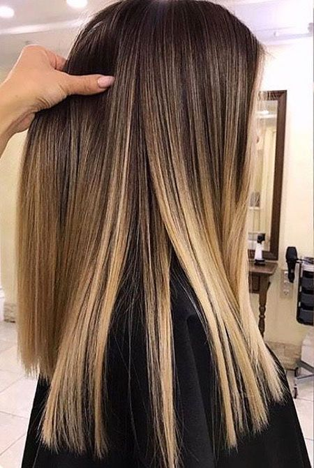 28 Ombre Straight Hairstyles »Acconciature 2019 Nuove acconciature e tinte per capelli