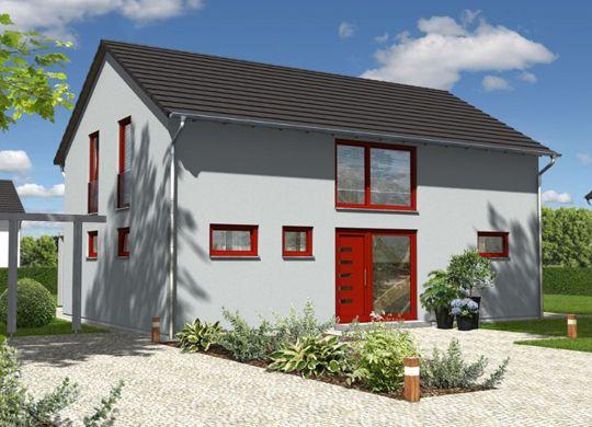 das landhaus 142 modern massivh user hausserie xl xxl. Black Bedroom Furniture Sets. Home Design Ideas