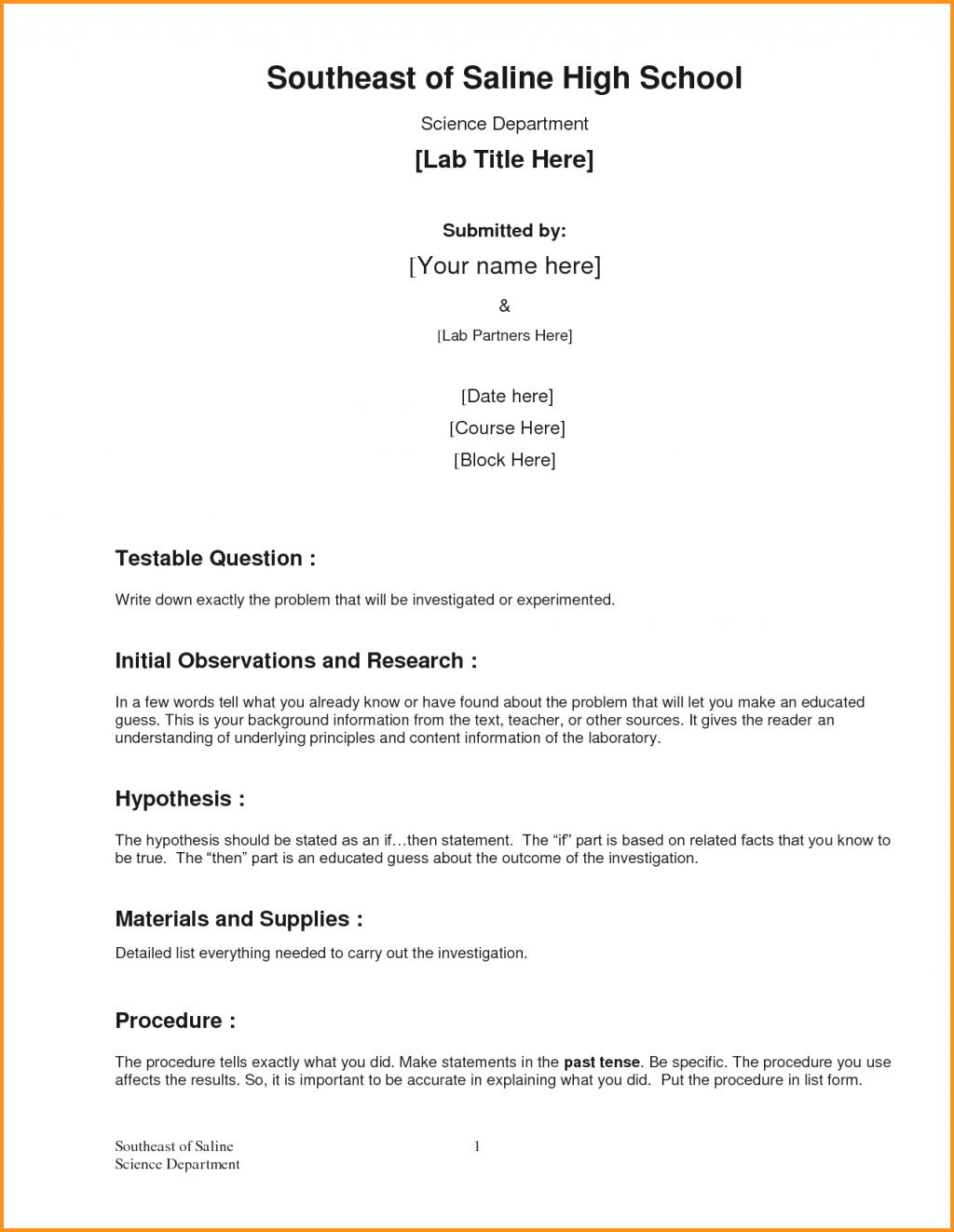 Business Report Sample Formal Template For Certificate  Home