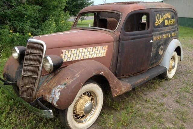 Rust Buckets... 1935 Ford Delivery
