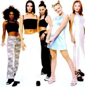 Flashback Fashion Pop Stars In The 90s Spice Girls Outfits Spice Girls Costumes Spice Girls