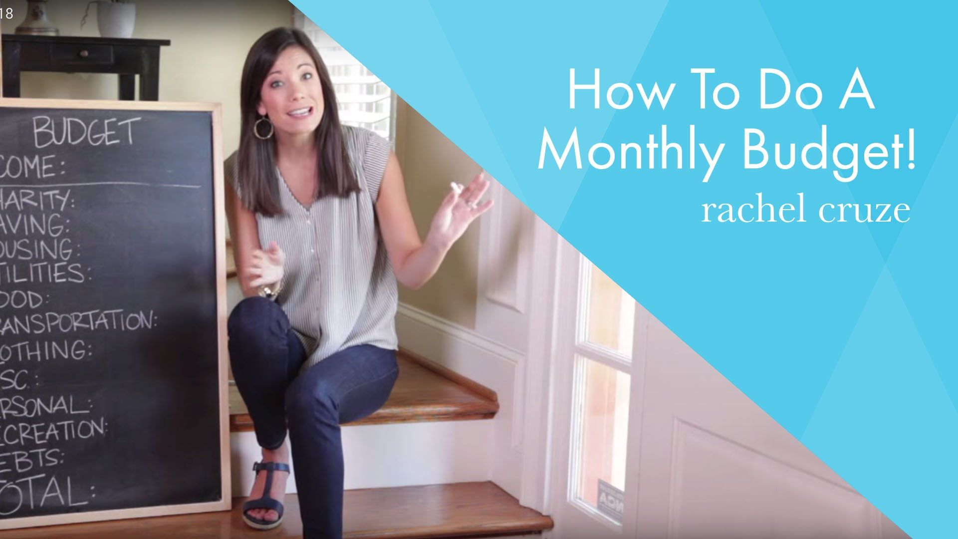 How To Do A Monthly Budget